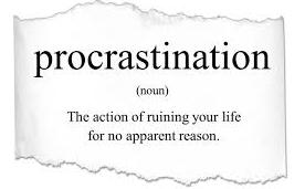 Procrastination & How to Stop Procrastinating
